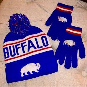 9d7457a27e5 Buffalo Bills Winter Hat   Gloves